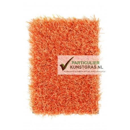 Oranje kunstgras