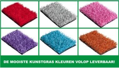 Kunstgras kleuren